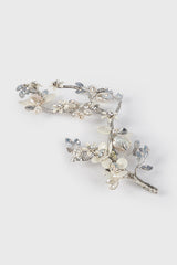 Silver Branches Hairvine in White