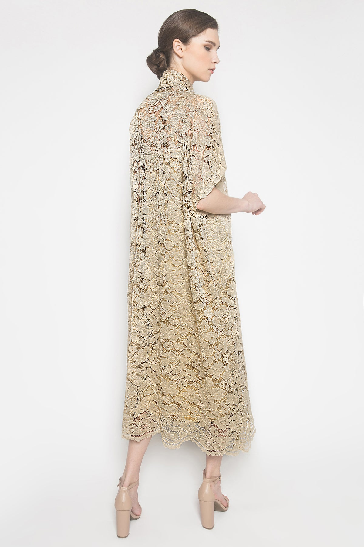 Khaula Dress in Cream