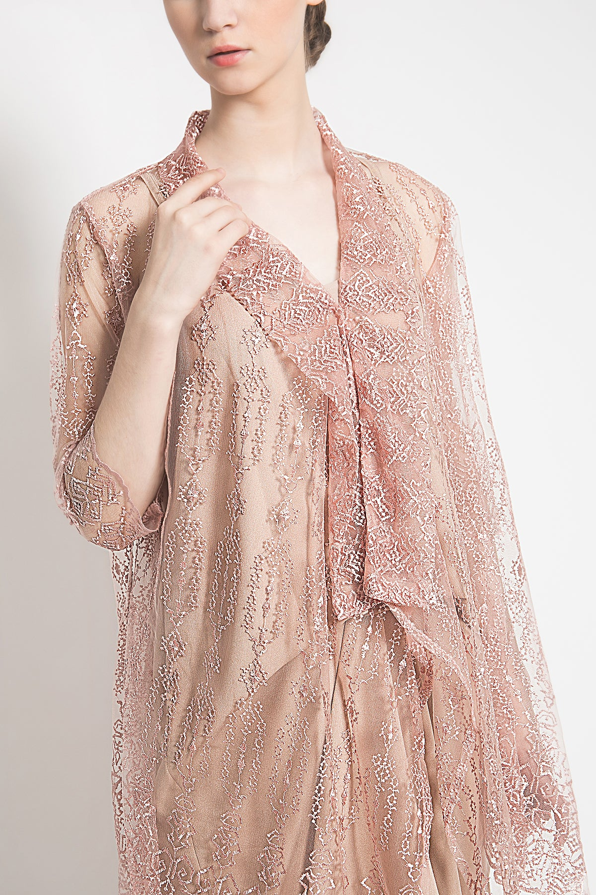 Nashira Dress in Pink