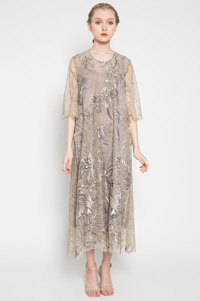 Laila Dress in Ash Grey