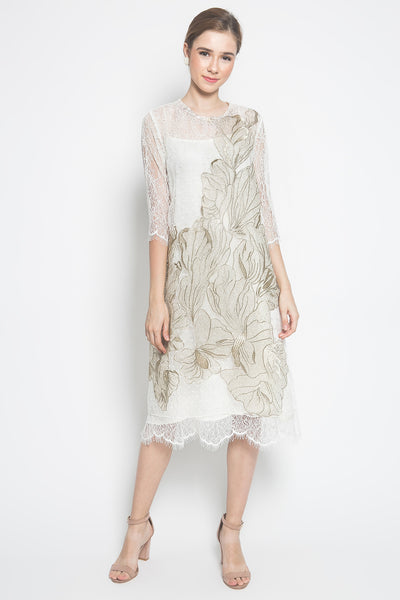 N Atelier Aloisia Dress in White