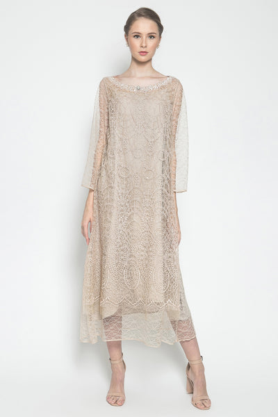 N Atelier Avante Dress in Nude