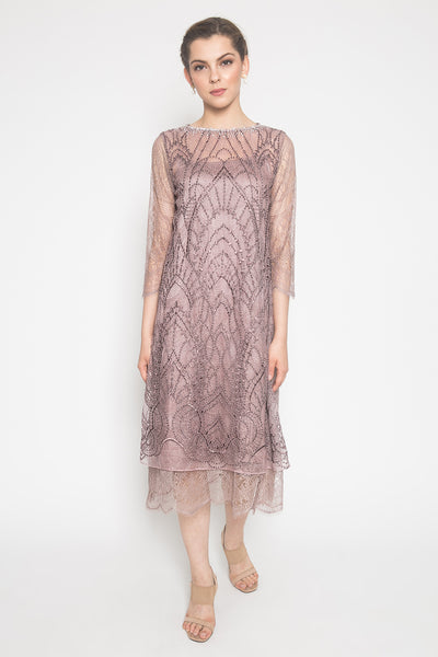 Voila Dress in Mauve