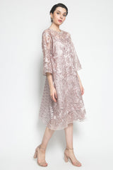 N Atelier Gardenia Dress in Peach