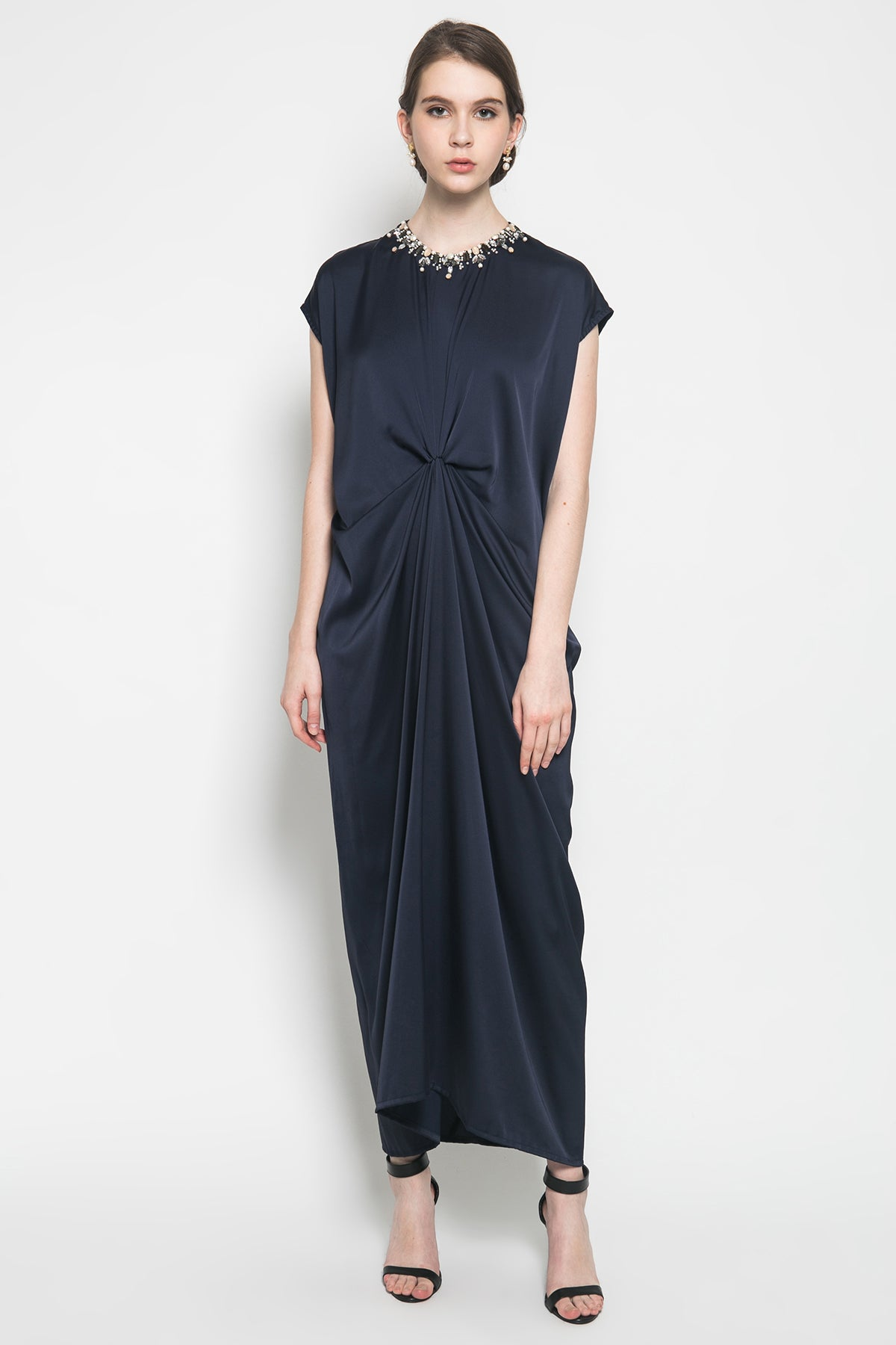 Dark Blue Caftan