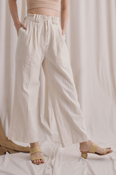 Venity Pants in Broken White