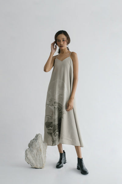 Ocea Dress in Taupe