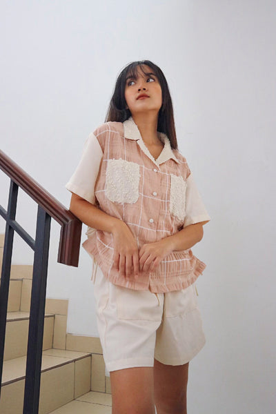 Umah Shirt in Nude