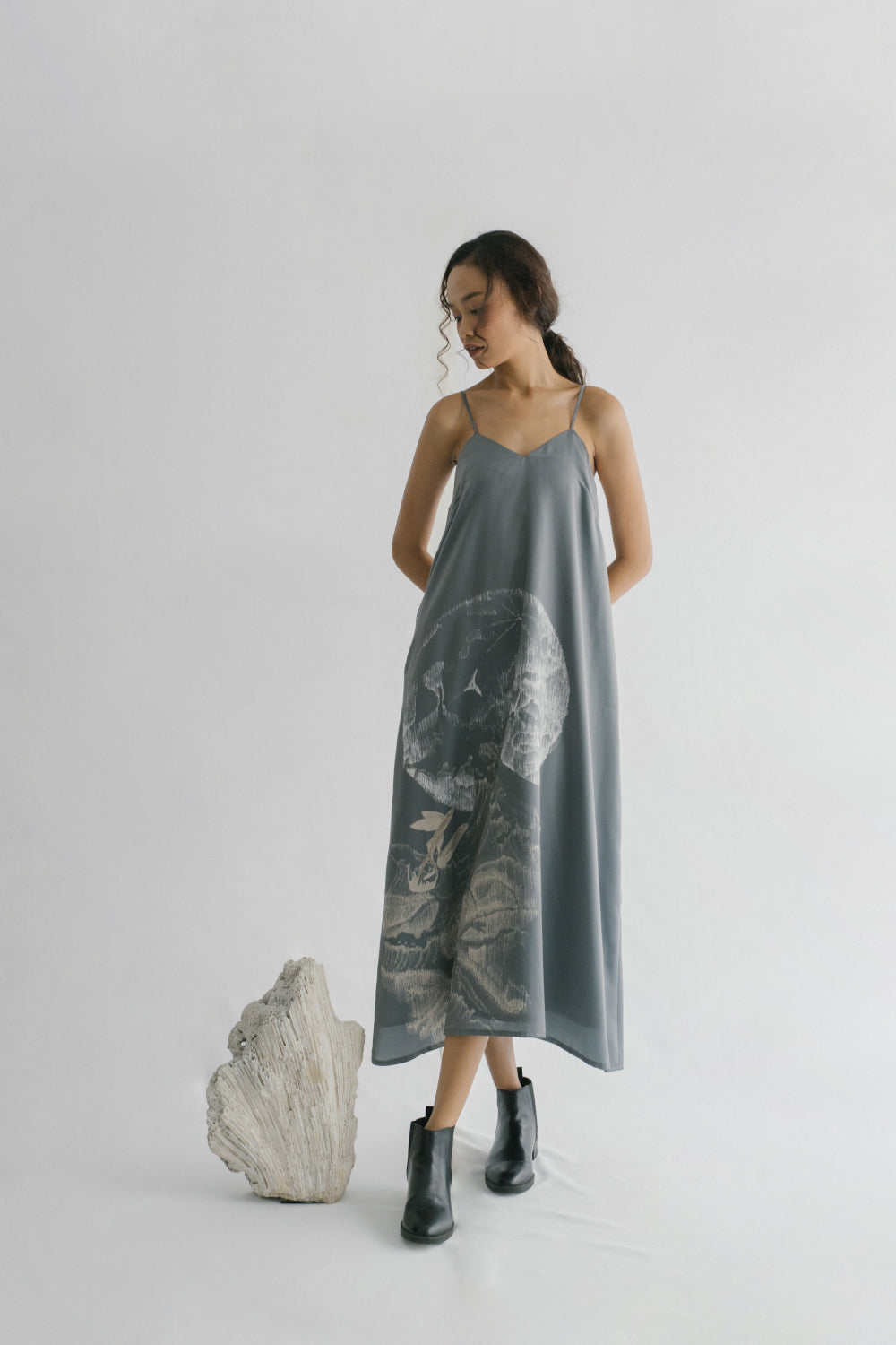 Ocea Dress in Grey