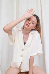 Aleira Top in Broken White