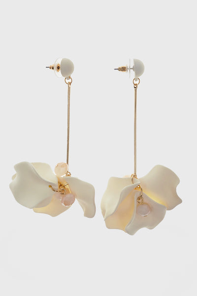 Kaia Floral Drop Earrings