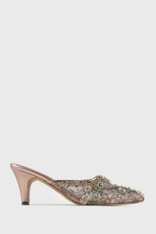 Aliya Shoes in Nude