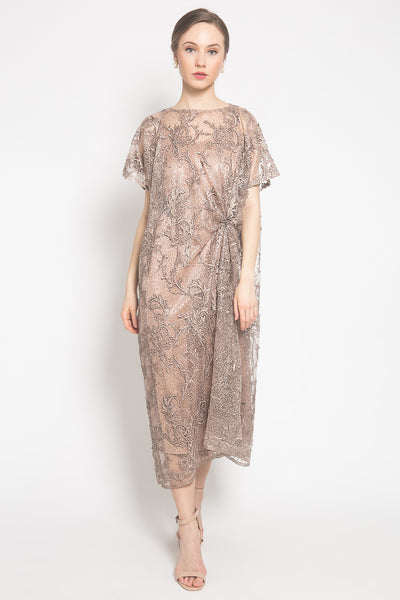 Raihana Dress in Bronze