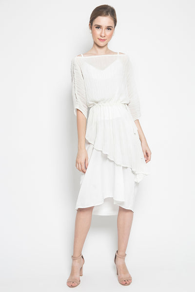 Nuna Rosie Dress in White