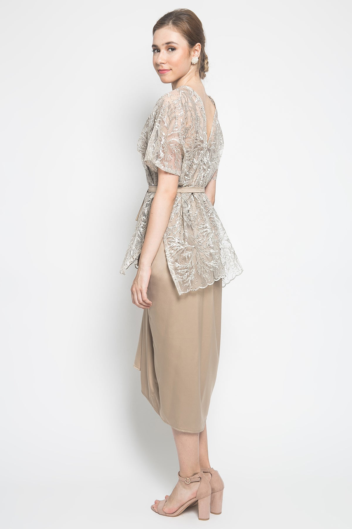 Nuna Salma Dress in Gold