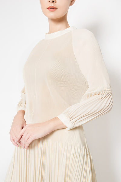 Ambre Tunic Dress in Beige