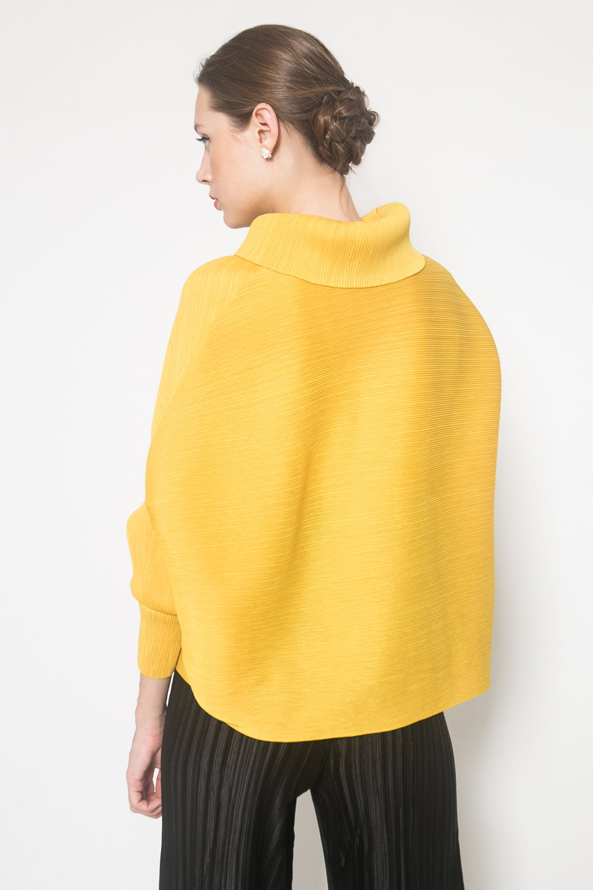 Bramley Top in Yellow Mustard
