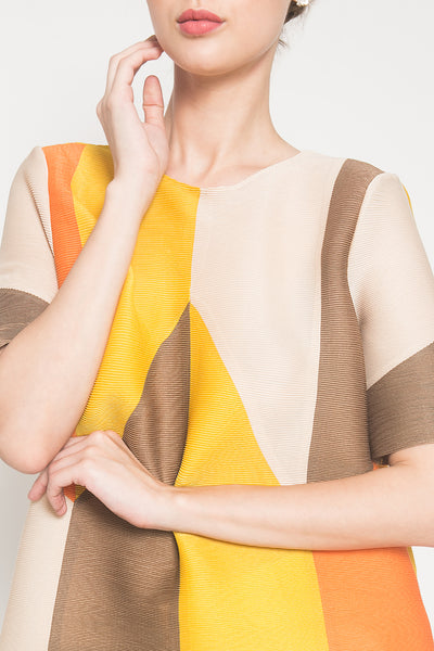 Loewe Top in Deep Saffron Yellow