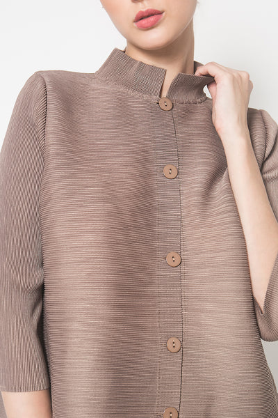 Orge Top in Brown