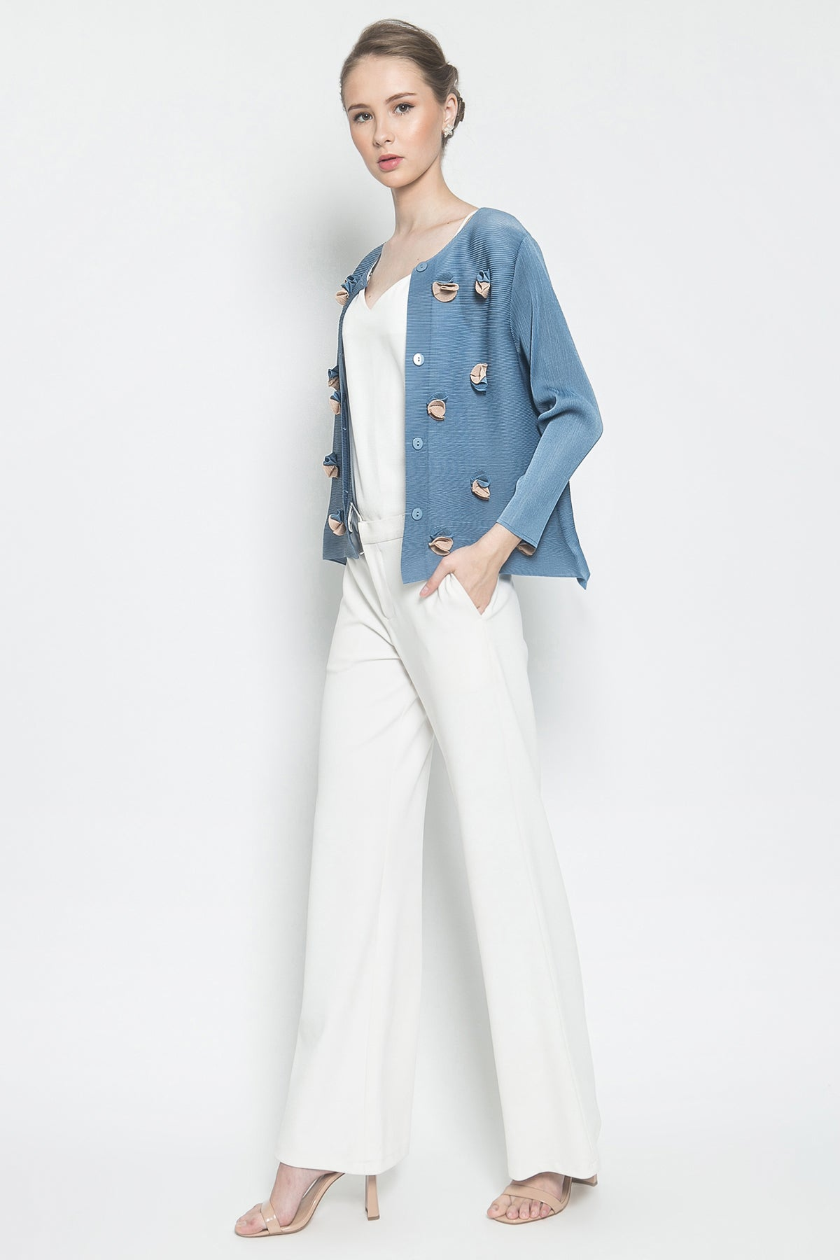 Celine Outer in Baby Blue