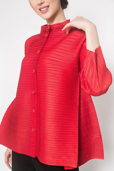 Oza Top in Red
