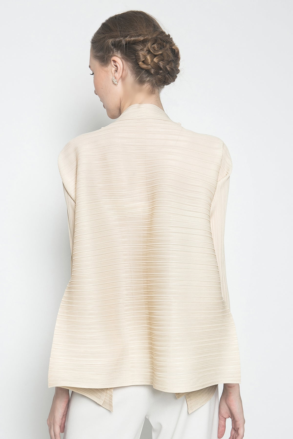 Oza Top in Beige