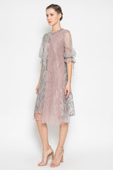 Cassey Dress in Dusty Lavender