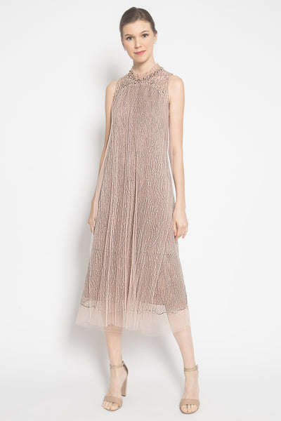 Audrey Dress in Rosegold