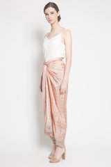 Alamanda Plain Skirt in Soft Pink