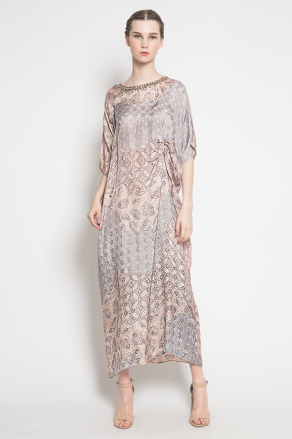 Azalea Kaftan in Soft Purple