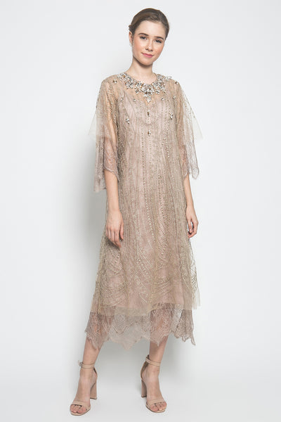 Farida Dress in Gold