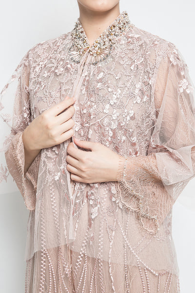 Q Atelier Martiza Outer Layer in Dusty Pink