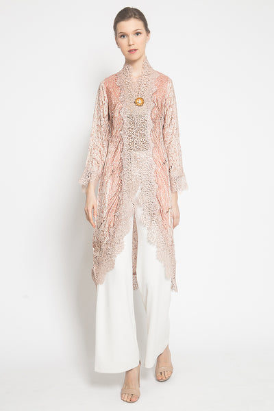 Dahlia Batik Outer in Soft Pink