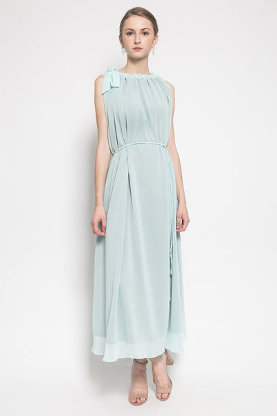 Rue Hemera Dress in Topaz Blue