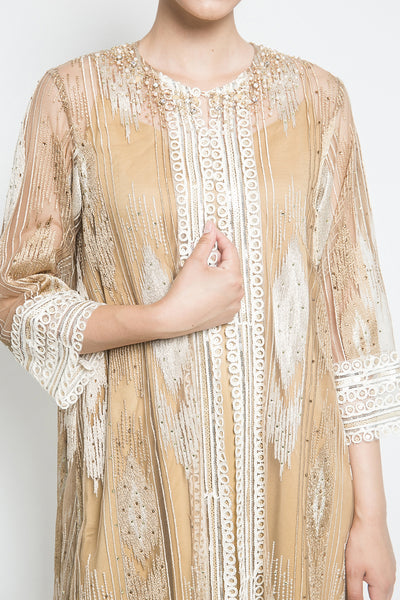 Sabcath Ameera Dress in Gold