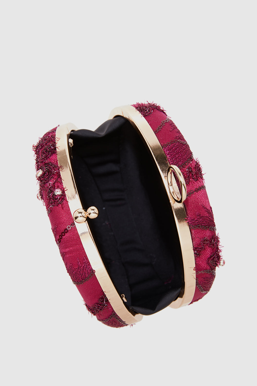 Curvakum Scarlette Clutch in Red