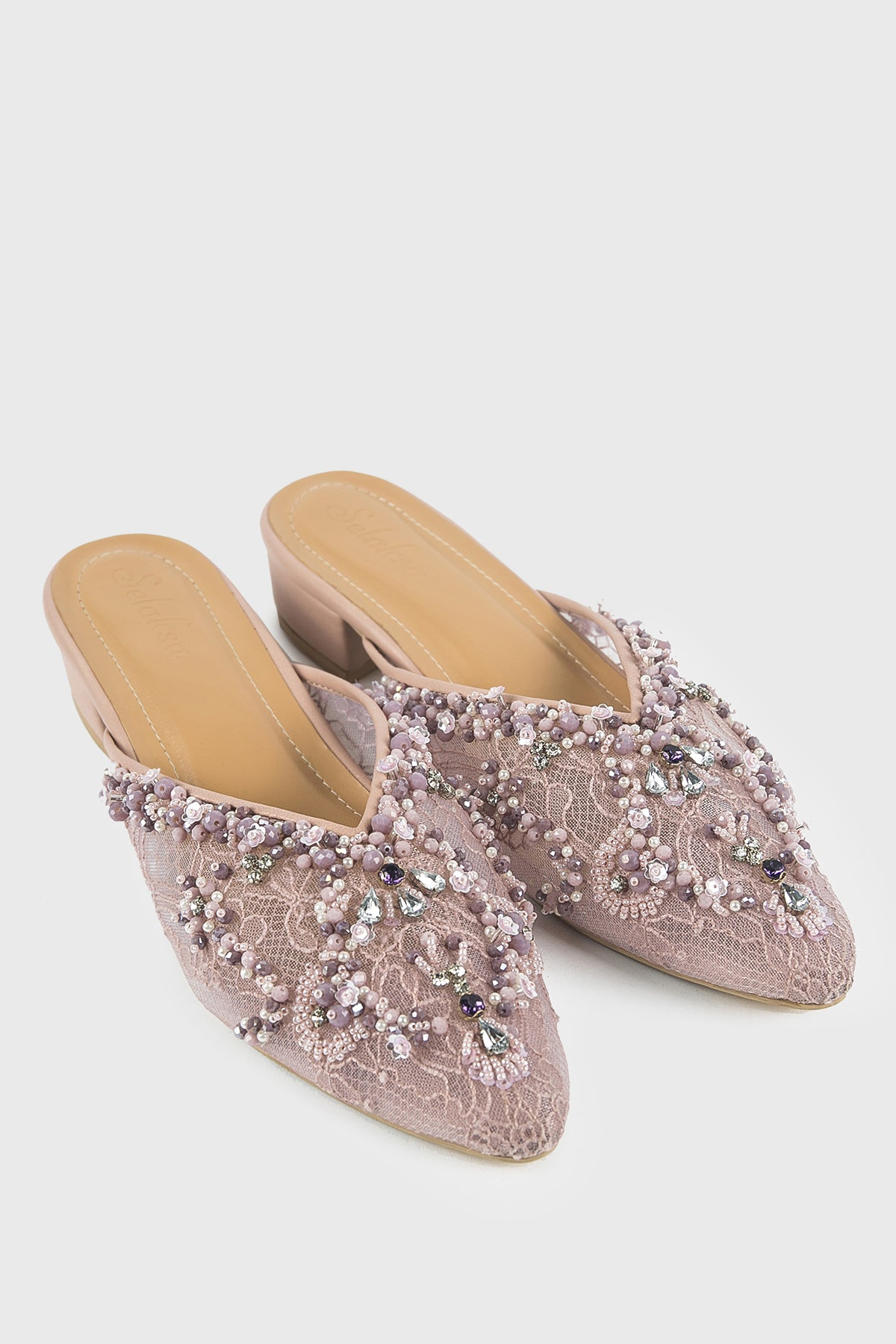 Selaksa Lily Shoes in Purple