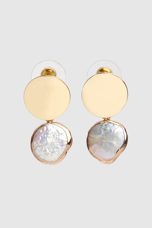 Keio Pearl Earrings