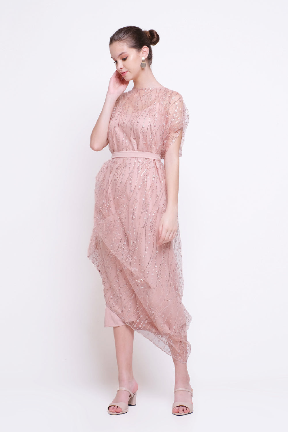 Shaqila Dress in Pink