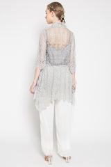Sarayu Top in Soft Grey