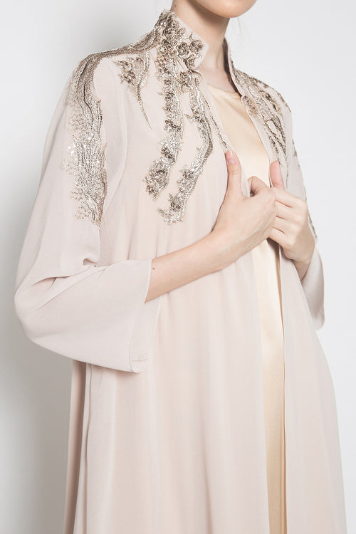 Eliora Outer Dress in Dusty Purple