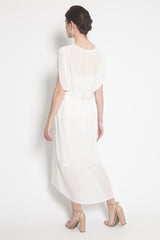 Nala Kaftan in White