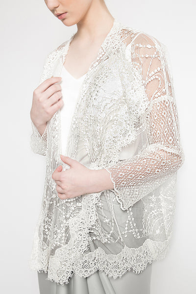 Agni Outer in White