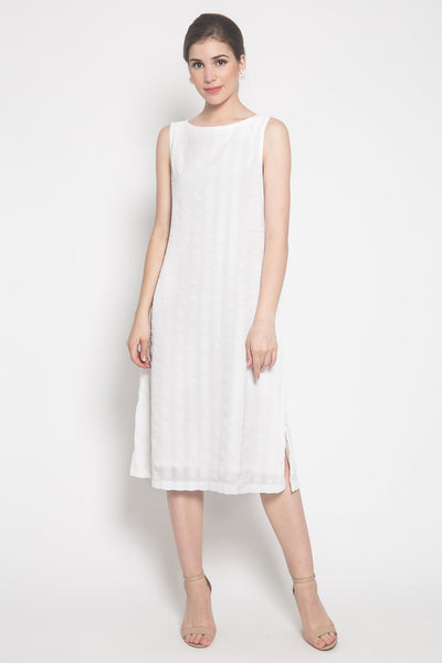 Tanu Dress in White