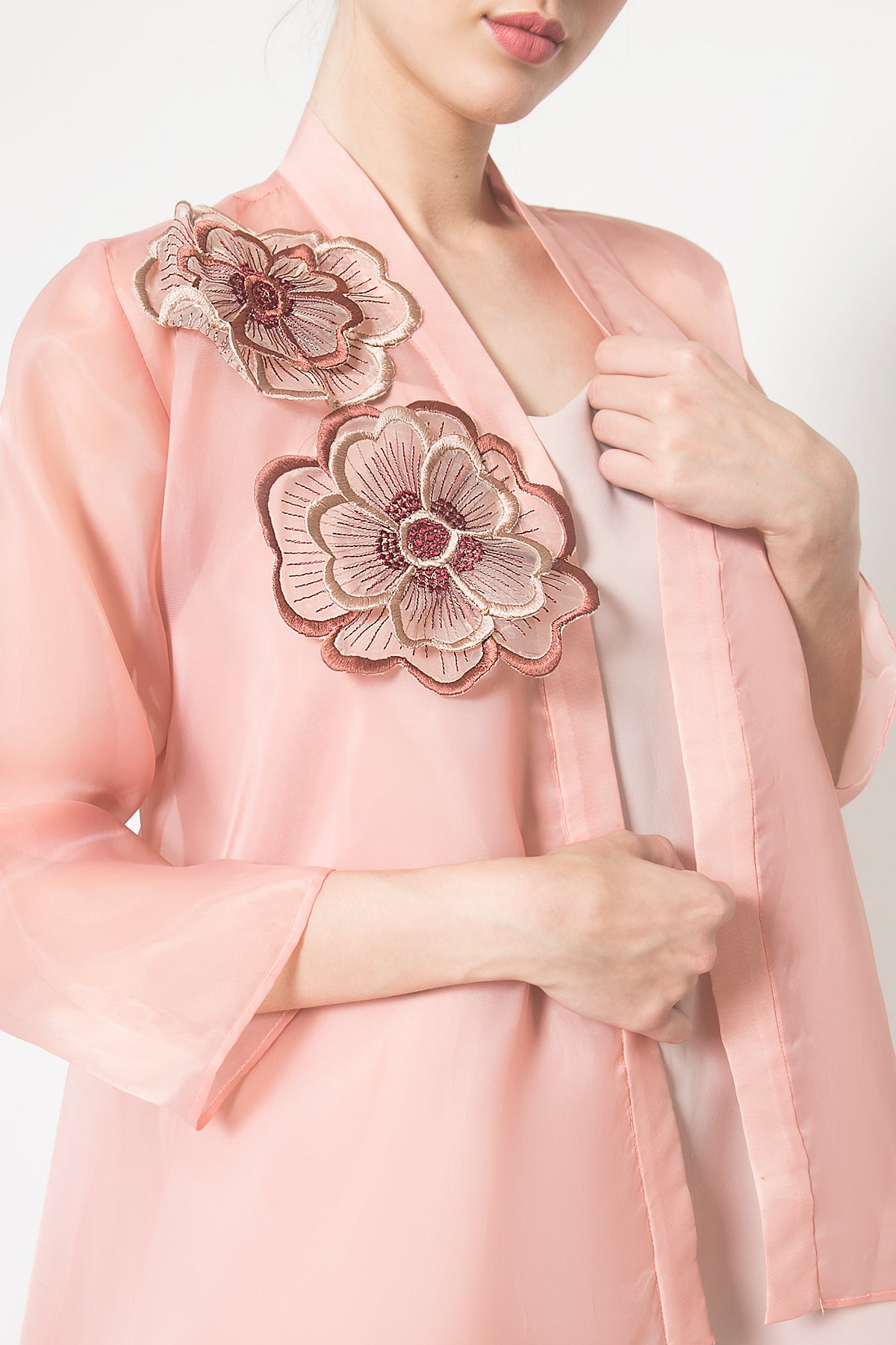 Gaia Dress in Dusty Pink Salem