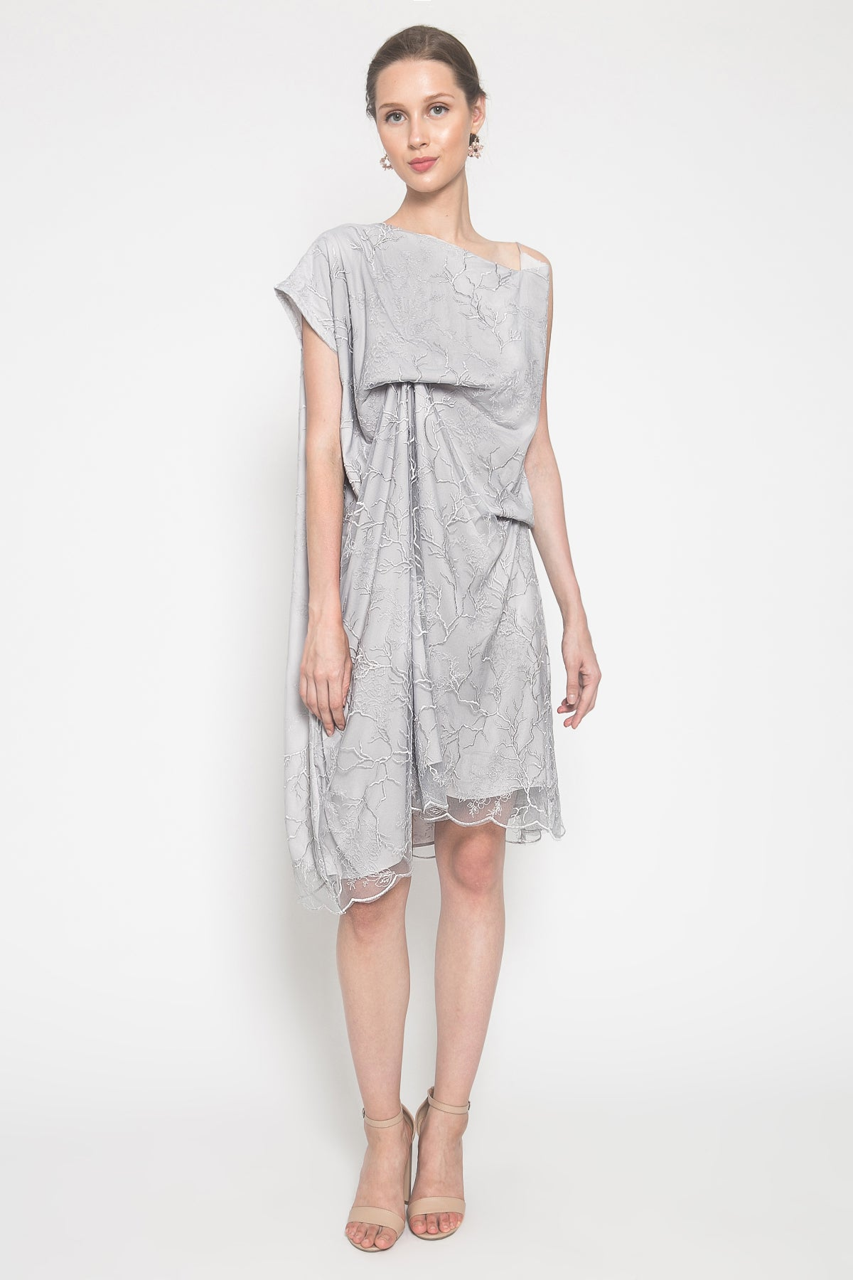 Shrila Dress in Grey