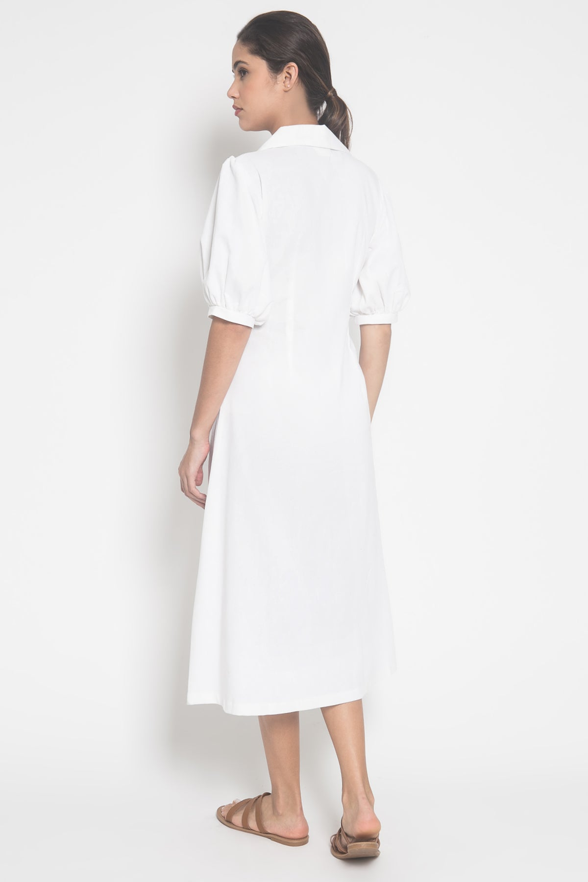 Ellena Dress in White