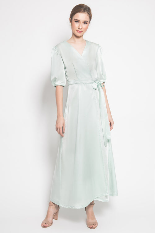 Slow Living Selena Dress in Green