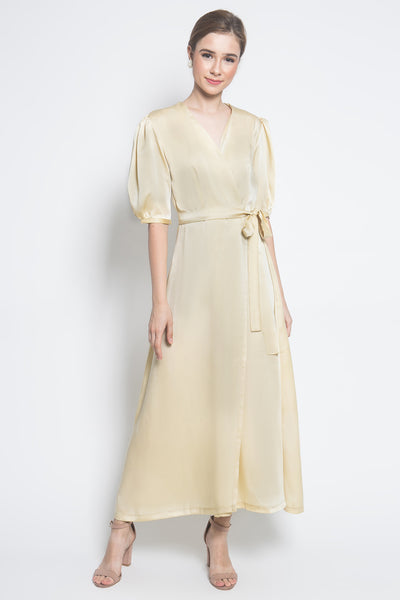 Slow Living Selena Dress in Yellow