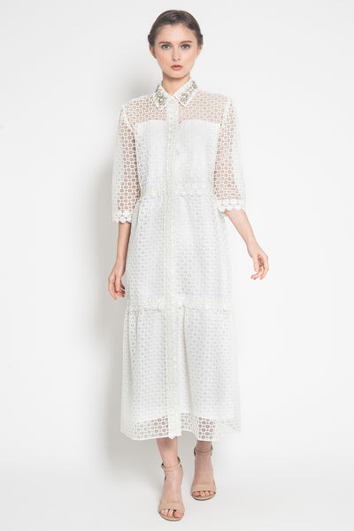 Ruh Dress No. 4 in White